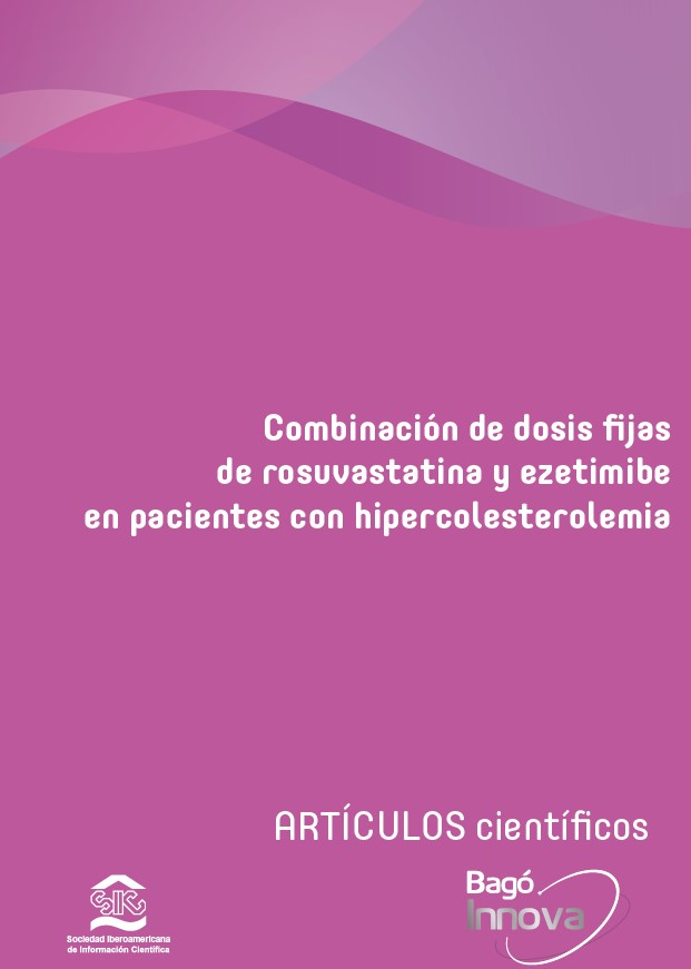 Combinación de dosis Fijas de rosuvastatina y ezetimibe en pacientes con hipercolesterolemia