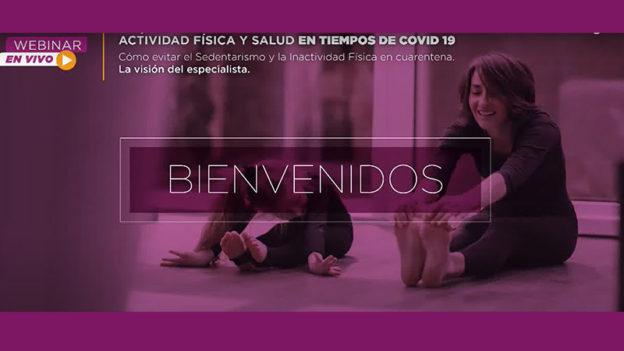 Cómo evitar el Sedentarismo y la Inactividad Física en Cuarentena