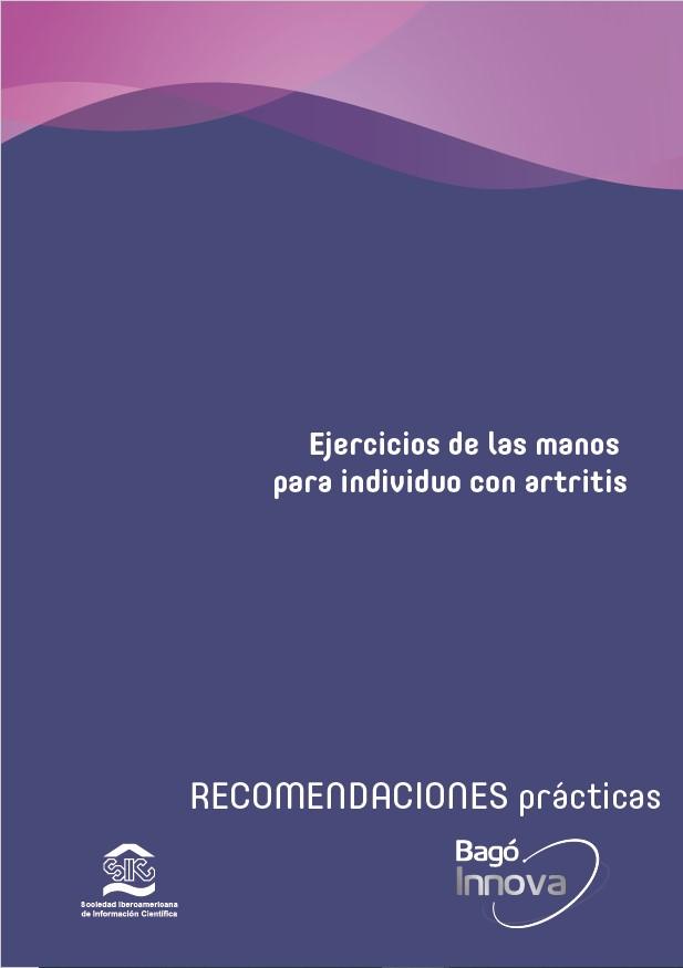 Ejercicios de las manos para individuo con artritis