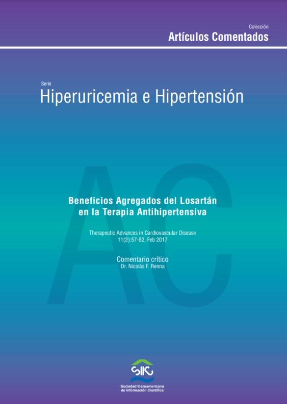 Hiperuricemia e Hipertensión. Beneficios Agregados del Losartan en la Terapia Antihipertensiva – Dr. Nicolás Renna